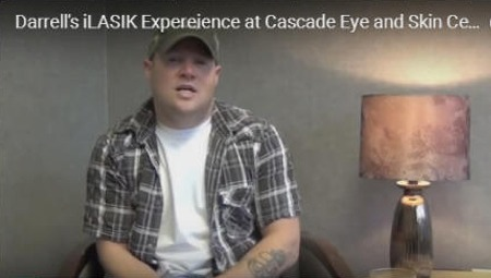 Click to find out more about Darrell's iLASIK Expereience at Cascade Eye and Skin Centers